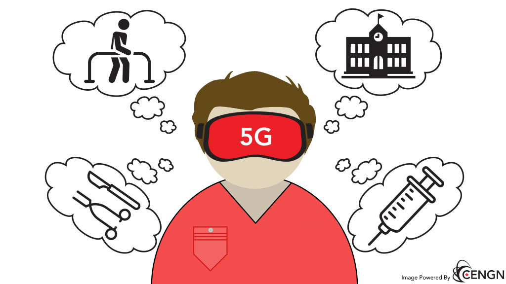 5G networks would allow VR to become an asset in the healthcare sector