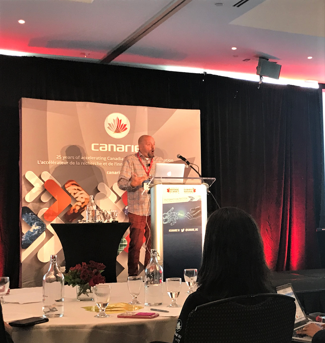 CENGN Attends CANARIE Summit, Automation Nation