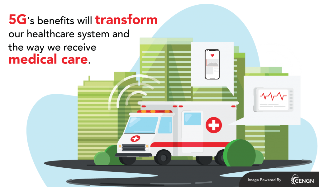 5G's benefits will transform our healthcare system and the way we receive medical care.