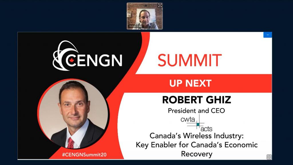 Robert Ghiz CWTA CENGN Summit
