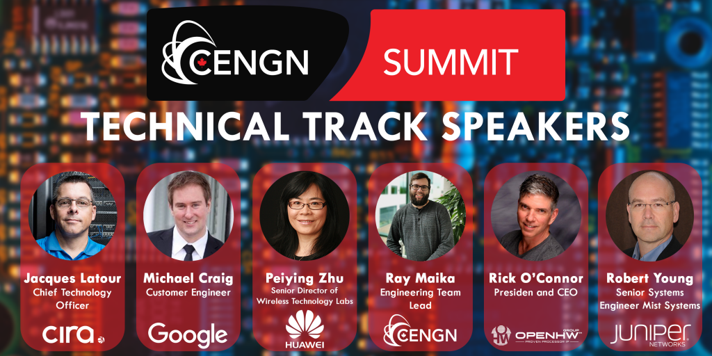 Tech-Track-Speakers CENGN SUMMIT 2019