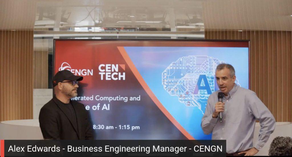 alex edwards at centech event